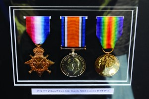 The framed medals of William Willmot